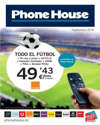 Catalogo Phone House revista de septiembre