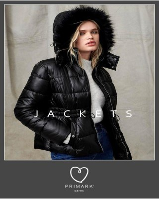 Catalogo Primark chaquetas