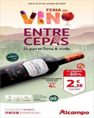 Catalogo Alcampo feria del vino