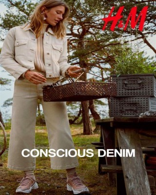 Catalogo H&M denim conscius