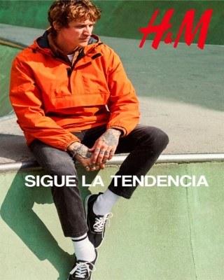 Catalogo H&M sigue la tendencia