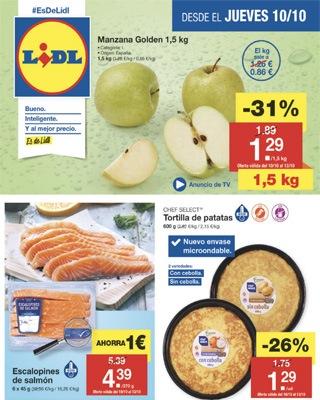 jueves lidl 10 octubre - Catálogo Lidl octubre lleno de ofertas