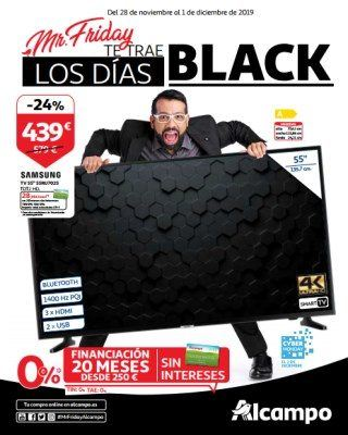 Catalogo Alcampo Mr Friday Te Trae Los Dias Black