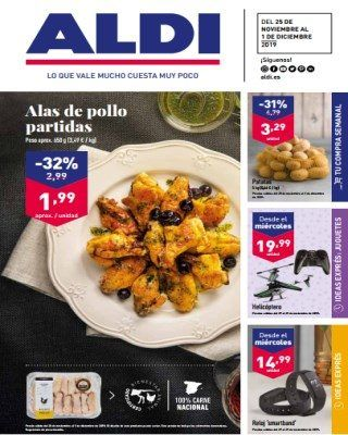 Catalogo Aldi Alas De Pollo Partidas