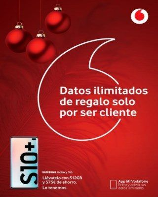 Catálogo Vodafone datos ilimitados de regalo solo por ser cliente 320x400 - Vodafone