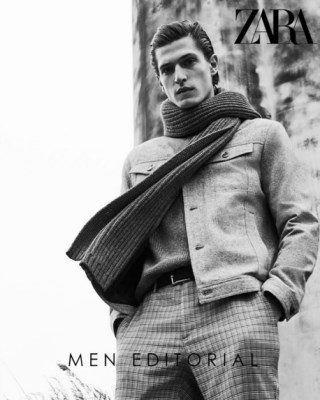Catalogo Zara editorial para hombres 320x400 - Zara