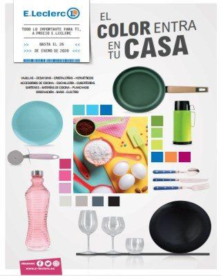 Catalogo E.leclerc El Color Esta En Tu Casa