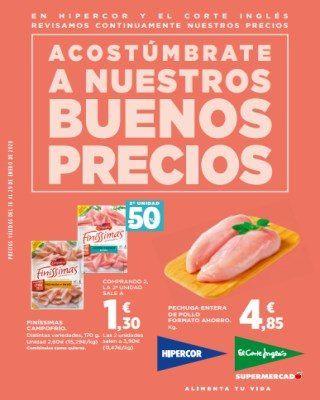 Catalogo Hipercor Acostumbrate A Nuestros Buenos Precios