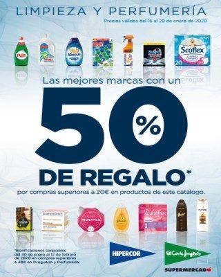 Catalogo Hipercor Las Mejores Marcas Con Un 50% De Regalo