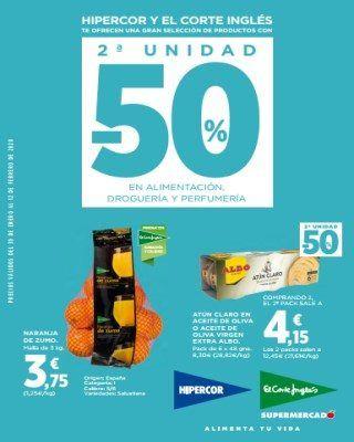Catalogo Hipercor Naranja De Zumo