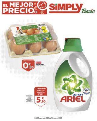 Catalogo Simply Huevos Clase L