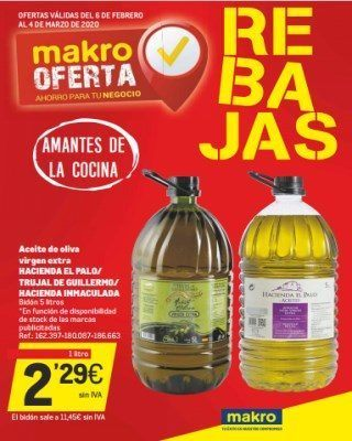 Catalogo Makro Aceite De Oliva Virgen Extra