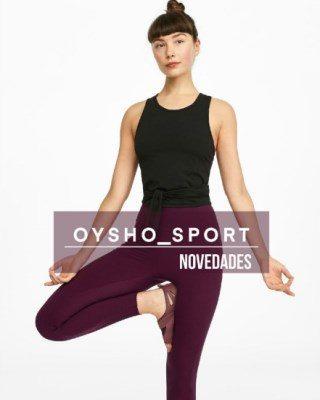 Catalogo Oysho Novedades Sport