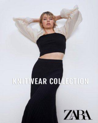 Catalogo Zara Coleccion de prendas de punto 320x400 - Zara