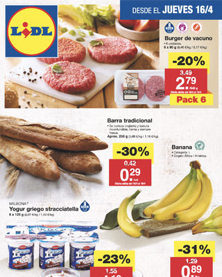 Catalogo Lidl 16 Abril