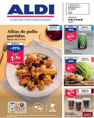 Catalogo Aldi Alitas De Pollo Partidas